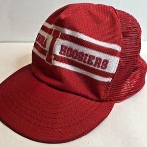 Other - Vintage Indiana IU Hoosiers Snapback Trucker Hat